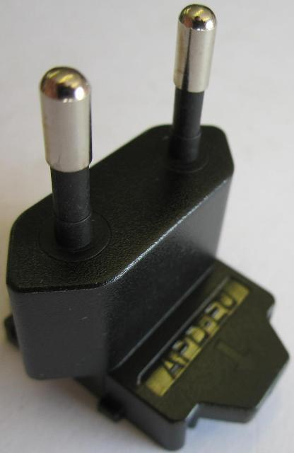 EU Slide Attachment Plug Piece APD-EU for Asian Power Devices APD WA-24E12 AC Ad