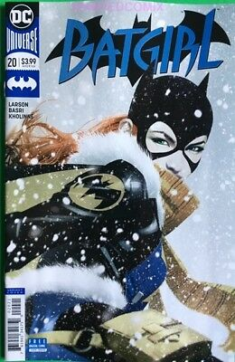 BATGIRL #20 JOSH MIDDLETON VARIANT COVER DC COMIC BOOK FEB 2018 NEW 1 SOLD OUT (Batgirl 20)