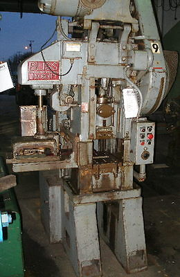 Bliss Model 6015 Single Crank Straight Side Production Punch Press