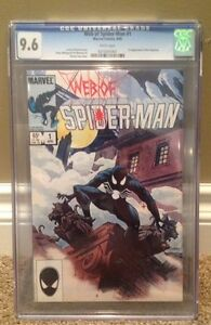 Web Of Spider Man Comic #1 CGC 9.6