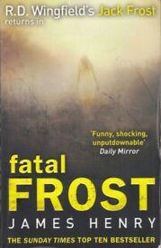 Fatal Frost * crime / mystery * - James Henry - Book / Novel