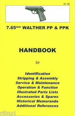 Walther PP & PPK 7.65mm Assembly, Disassembly Manual No. 29