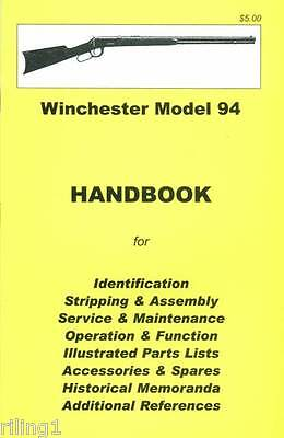 Winchester Model 94 Assembly, Disassembly Owner's Manual