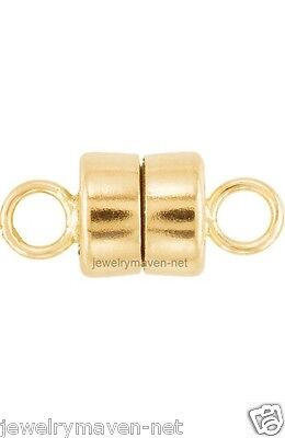 14k MAGNETIC CLASP TINY Converter Yellow SOLID Gold Bracelet Necklace 4.5mm US