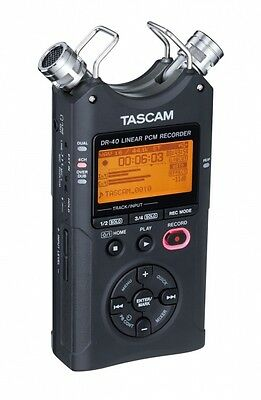 dr 40 4 track portable digital recorder
