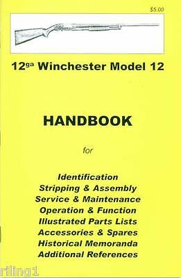 WINCHESTER Model 12 Assembly, Disassembly Owner's Manual