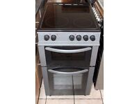 6 MONTHS WARRANTY Bush AA energy rated, 50cm wide electric cooker FREE DELIVERY