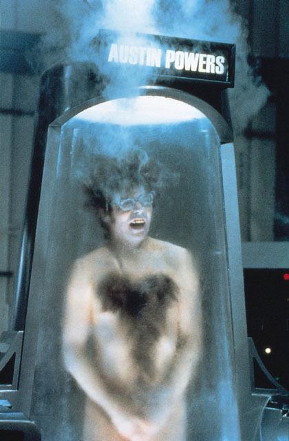 1997 Austin Powers Cryogenic Freezing Chamber Tube Hero Prop Mike Myers