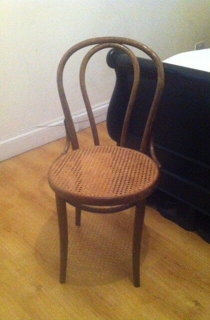Thonet Style Bentwood No 18 Chairs Made By Drevounia Cane