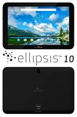 Verizon Ellipsis 10 16GB, Wi-Fi + 4G (Verizon) - Black