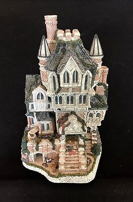 David Winter ~THE HAUNTED HOUSE ~ MIB ~ COA ~ NUMBERED LIMITED EDITION ~ AMAZING