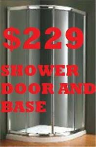 SHOWER ENCLOSURE.SHOWER DOOR.BATHROOM VANITY $199
