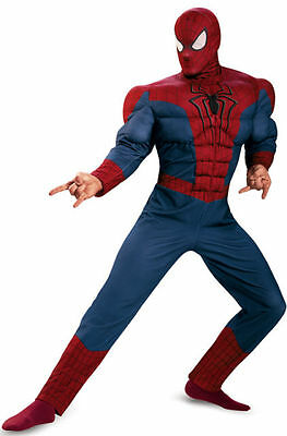 The Amazing Spider-Man 2 Movie Adult Classic Muscle Chest Costume XXL Disguise