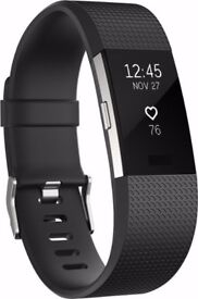 FITBIT CHARGE 2 HARDLY USED STILL UNDER JOHN LEWIS GUARANTEE