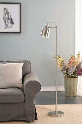 Kenroy Home 33097BS Floor Lamp Brushed Steel Focus Collection