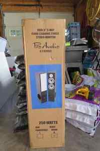 Pro Audio Speakers 6.3 series - BRAND NEW NEVER OUT OF BOX