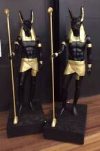 2 x GIANT Anubis Statues! Egyptian Gods almost 3m tall! Woody Point Redcliffe Area Preview