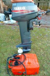 YAMAHA TINNY OUTBOARD - 20HP - INCLUDES FUEL TANK Thornlands Redland Area Preview