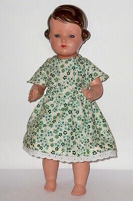 Alte Schildkröt Puppe Inge Schildkrötpuppe 41cm Braun Puppen Dolls Mädchen
