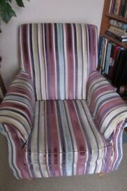 Comfy Chair - lovely colours!