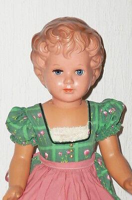 Alte Schildkröt Puppe Schildkrötpuppe Gabriele 48cm Dachbodenfund Puppen dolls !
