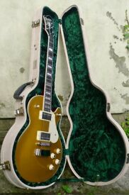 Hagstrom Swede Gold Top Les Paul w/Retro Features RRP £625