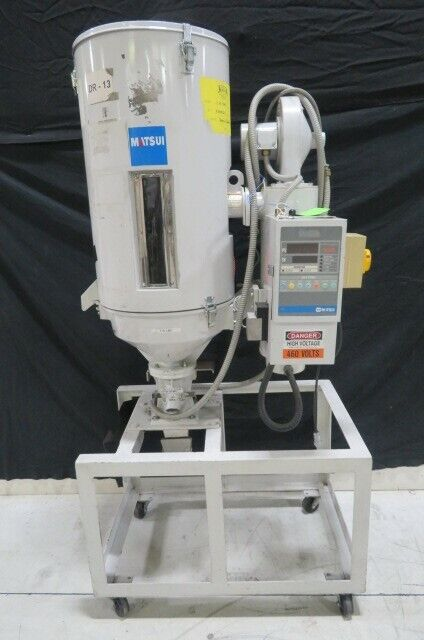Matsui Used HDII-50-RDH Hot Air Material Dryer, Yr. 2003, ZAG #8903