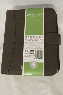Harmony Day Runner Balance Work Home Brand New Brown Wdesign 3072-0286 Size 4