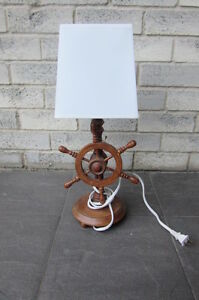 Nautical Wood Table Lamp