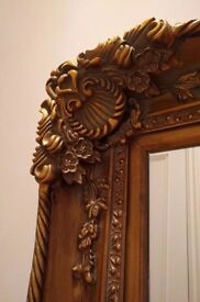 Large mirror from Middle East