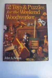 52 Toys & Puzzles for the Weekend Wood Worker