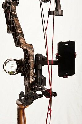 S4 Gear Jackknife Smartphone Bow Mount For Apple Iphone, Motorola Droid, Android