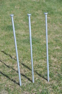 16-Steel-Tent-Stakes-3-4-X-30-Stake-Tent-Anchor-Peg-Canopy-Spikes-Camping-Tarp
