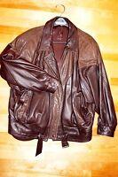 manteau cuir brun pour femme