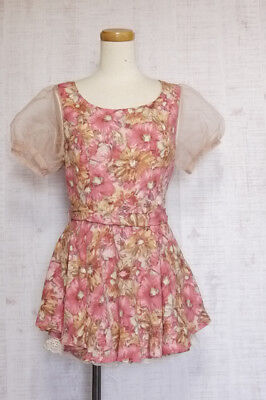 LIZ LISA Rompers Japanese Style Fashion Gyaru Lolita kawaii cute 9
