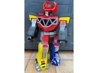 Imaginext CHJ18 Power Rangers Morphin Megazord Giant Playset