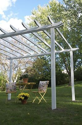 3m x 3m Pergola kit. Decorative Garden Structure Ideal for Decking
