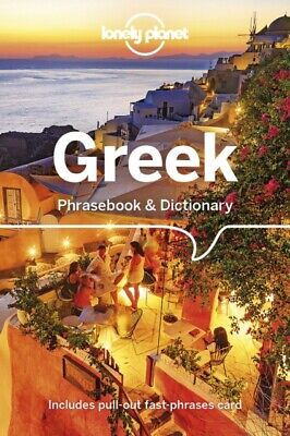 Lonely Planet Greek Phrasebook & Dictionary Cheap Book Free UK Shipping