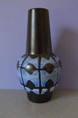 Vase Strehla Keramik 19 cm handgemalt Nr. 894 Ostalgie DDR Sammelstück