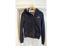 Blue Hollister hoodie (size L)