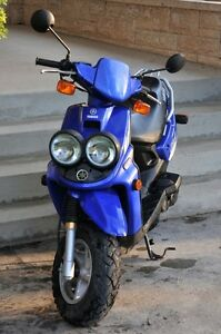 Well maintained, great acceleration, low miles Yamaha BWS