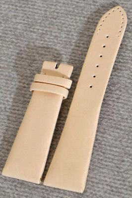 PATEK PHILIPPE SATIN-ARMBAND VANILLE, ANSTOßBREITE 21MM, SCHLIEßE 16mm