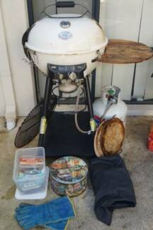 European outdoor chef gas bbq + accessories Inglewood Stirling Area Preview