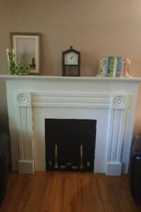 Unique Faux Fireplace - Beautiful Addition to any Room!