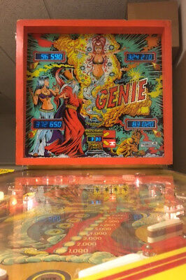 Genie Pinball Machine by Gottlieb & Extras! Wide Body! VIntage 1979