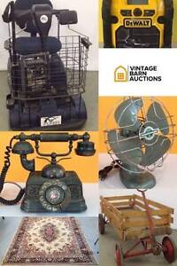 ONLINE AUCTION:Tools, Electronics,Fan,Scooter, Wagon, Phone