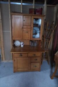 Antique Hoosier Cupboard