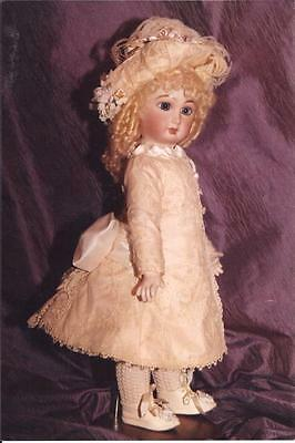 "18""  FRENCH DOLL DRESS PATTERN ANTIQUE STYLE~ EMILY"