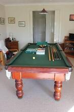 Billiard Table Italian Slate 8' by 4' Hampton Park Casey Area Preview
