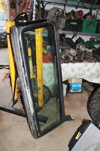 Jeep TJ Project Windshield frame with good glass & hinges